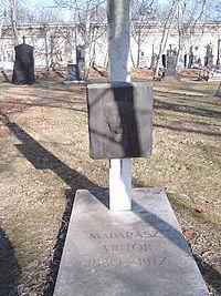 Madarász Viktor sírja-Budapest-Kerepesi temető (Vígh Tamás alkotása)