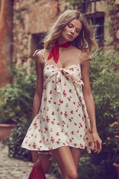 Edgy, pleasing, and full of beautiful prints, the For Love & Lemons' collection is defined by sweet, childish playfulness, set off by a sexy, grown-up edge.
