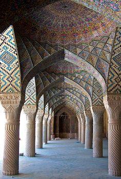 Nasir al-Mulk Mosque (1888), Shiraz, Iran.