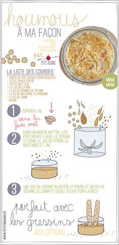"""""""Houmous - Battle Food - Petits Béguins"""" A essayer miam."""