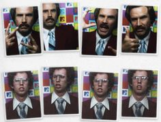 @Tracey Fox Fox Armstrong - Best mashup ever. ron burgundy and napolean dynamite