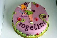 déco gâteau anniversaire fée clochette