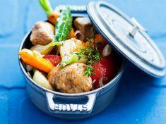 Veal Marengo (sub flour for cornstarch for a gluten-free alternative) Pot Roast, Gluten Free Recipes, Free Food, Potato Salad, Lamb, Turkey, Low Carb, Meat, Ethnic Recipes