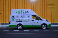Voltia Maxi city logistics electric van