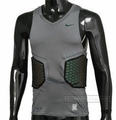 fd2597ff4a38ad Nike Pro Combat VIS DEFLEX Foam Padded Basketball Shirt Vest