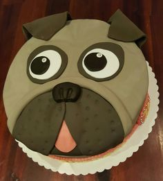 Bulldog Cake Torte