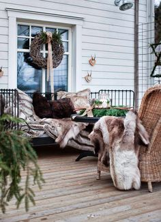 Уютный зимний домик в Швеции / Интерьер / Архимир