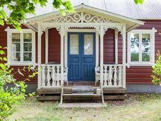 Denna lilla stuga i Stånga på Gotland, har allt man kan önska sig av ett semesterhus.