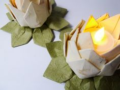 images about Lotus Lite Lotus, Candle holders