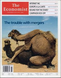 The Economist – The Trouble With Mergers.