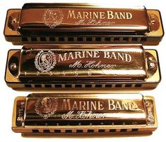 In the late 1980s, Rich Epping traveled to Hohner armed with a collection of old, sweet-sounding Marine Bands, and eventually convinced the model to redesign its most popular model. Hohner Marine Band, Harmonica Lessons, King Drawing, Blues, Buy Music, Music Heals, Harp, Music Is Life, Geek Stuff