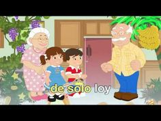 Have fun singing along with los abuelitos and their grandchildren to this traditional Spanish language lullaby