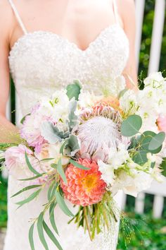 Flora-Filled Charleston Garden Party | Charleston, SC