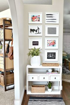 Entryway Decor Ideas at the36thavenue.com