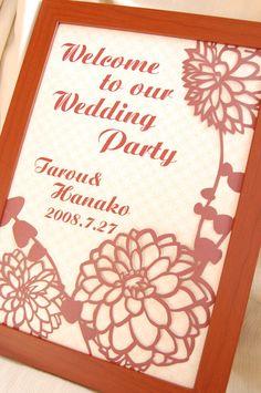 ウェディング・ペーパーアイテムデザイン【COCHLEAL】 Wedding Cards, Wedding Events, Weddings, Welcome Boards, Asian Cards, Wedding Kimono, Welcome To Our Wedding, Wedding Preparation, 70th Birthday