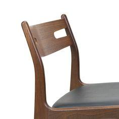 Teakhouten vintage Deense eettafel stoel jaren zestig - Pool Houses, Floor Chair, Flooring, Retro, Interior, Furniture, Home Decor, Decoration Home, Houses With Pools