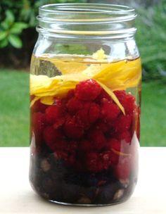 Raspberry-Chocolate liqueur