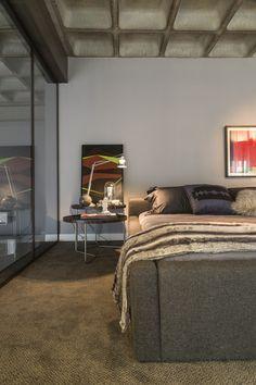 modern loft 21 Perfect Merger Between Art and Design: Contemporary Apartment in Brazil