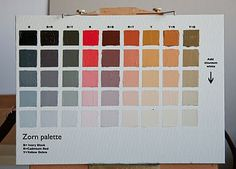 The Zorn palette