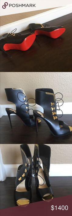 Brand new Christian louboutin shoes Brand new never been worn Christian louboutin shoes. Original price $2200 selling for $840 Christian Louboutin Shoes Heels