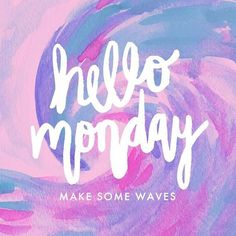 What motivates you to get through the week? We would love to know what makes you tick! Holla at us #mondaymotivation