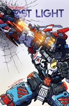 Variant Cover for IDW Transformers: Lost Light #12 by Milne / Perez