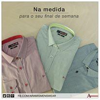 Peça do dia a dia do homem moderno, a camisa social também é ideal para momentos de lazer. #aramismenswear #estiloaramis