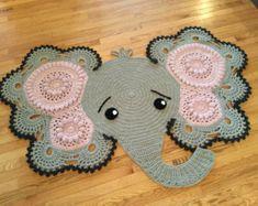 CROCHET PATTERN Josefina and Jeffery Elephant by IRAROTTpatterns