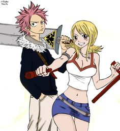 Rave Master and Fairy Tail <3