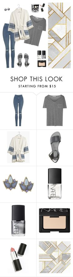 """"""""""" by raachyrach ❤ liked on Polyvore featuring Topshop, T By Alexander Wang, Madewell, Charlotte Russe, Carolee, NARS Cosmetics and Sigma Beauty"""