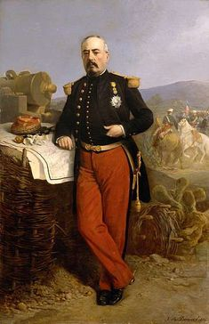 François Achille Bazaine, Maréchal de France, a servi à la Légion Étrangère