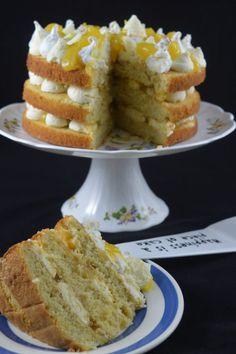 Lemon Roulade cake - Baked to Imperfection