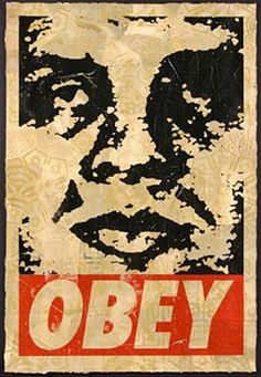 Shepard Fairey -- I can finally put a name to the images.