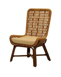 FB-5789-A RATTAN & ABACA SIDE CHAIR