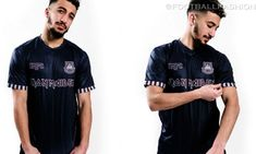 West Ham x Iron Maiden 2021 Away Kit