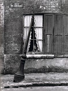 André Kertész.    Rue Du Cuédic, Le Havre, France, 1948