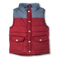 Toddler Boys' Fashion Vest - Berry Purple