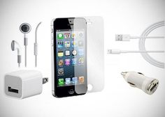 $15 for an iPhone 5 Accessory Pack ($ 92 Value) via Tippr