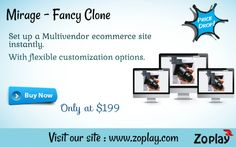 It is a successful online website for shopping, where the sellers can add their own product and create their own store or shop online in minutes and use that particular store page as their own website. They can also add affiliate products feeds and earn commission through it. For more info : https://www.zoplay.com/web/multi-vendor-clone-website/