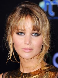 Jennifer Lawrence  #hair #makeup #beautysouthafrica