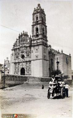 Fotos de Tepotzotlán, México, México: convento Hacia 1930