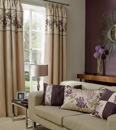 Beautiful embroidered curtain small living room design Most Important Aspects You Will Need To Consider For Decorating Small Living Rooms