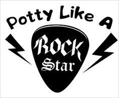 Potty Like a Rock Star