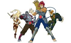 New Thundercats. But i dunno what's wrong with the old ones :(