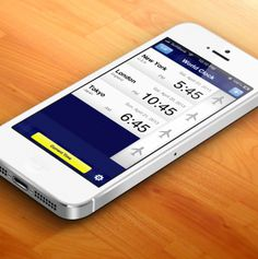 """World Clock"" is an application that displays a list of the times in several cities around the world. #iPhone #App"