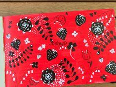 Strawberry print mixed media by Joshy