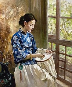 """de Pan Honghai (chinois) """"The greater the artist, the greater the doubt. Perfect confidence is granted to the less talented as a consolation prize."""" - Robert Hughes"""