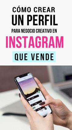 Cómo crear un perfil para negocio creativo en Instagram que vende | Marketing Tips | Instagram Tips for Business | #instagram #marketingtips #negocio #emprendimiento #artesania