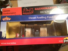 Diesel Fueling point by Scencraft & sold by Bachmann  Acquired 24/09/16 from Hattons Merseyside in the sales