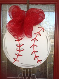 Baseball door hanger personalized by samthecrafter on Etsy, $35.00